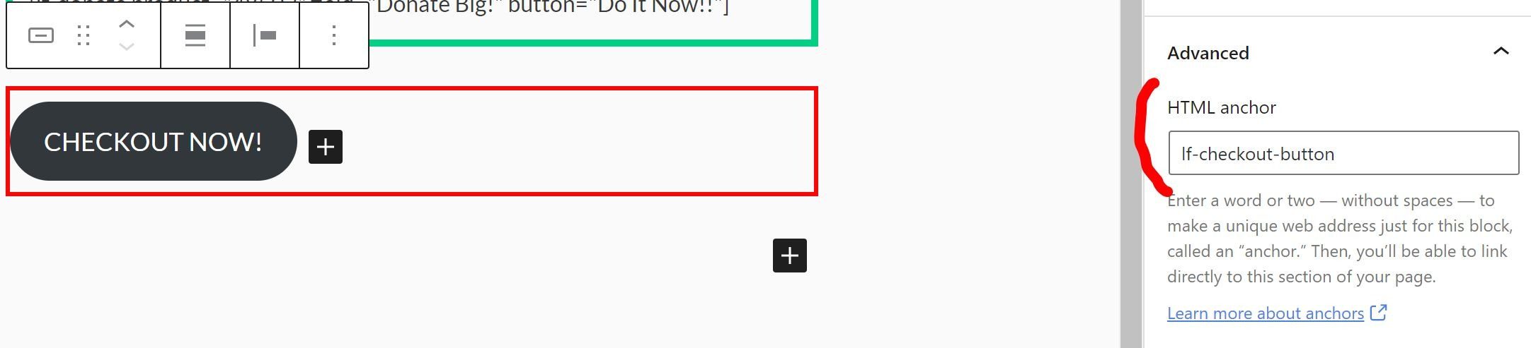 LaunchFlows Add New Place Order Button Shortcode