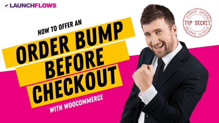 How To Offer An Order Bump Before Checkout With WooCommerce