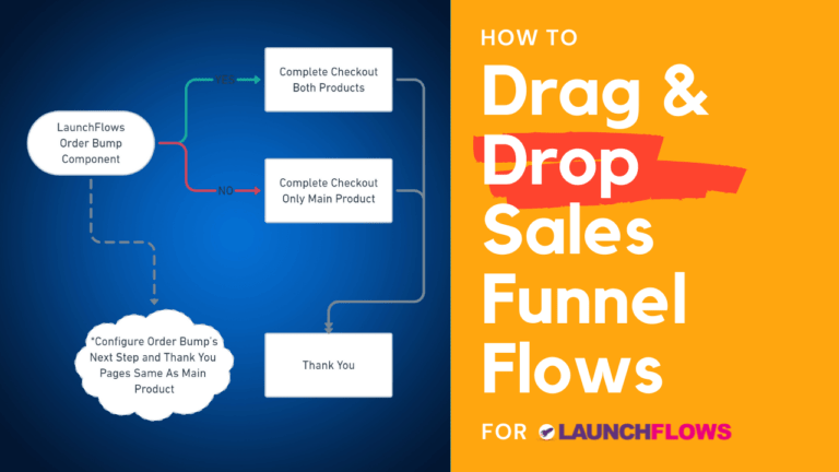 How To Drag & Drop WooCommerce Sales Funnels For LaunchFlows